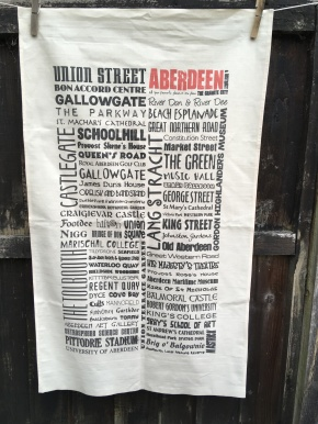 Aberdeen: 2018. To read the story www.myteatowels.wordpress.com/2018/11/09/abe