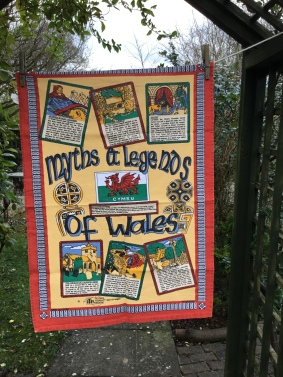Myths and Legends of Wales: Acquired 2018, possibly vintage. Not yet blogged about