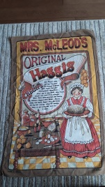 Mrs McLeod's Original Haggis: On 'loan'