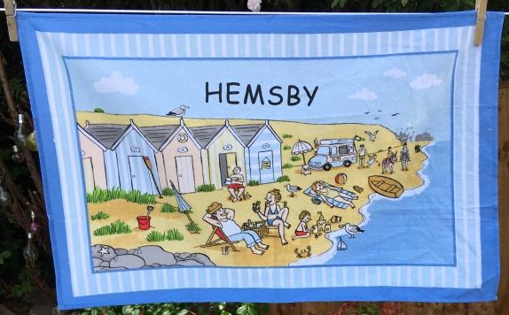Hemsby: 2019. To read the story www.myteatowels.wordpress.com/2019/08/02/hem