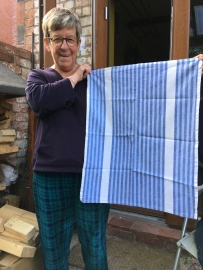 Blue and White Stripes: On 'loan' from Lynn