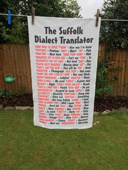 The Suffolk Dialect Translator: 2020. To read the story www.myteatowels.wordpress.com/2020/09/12/suf