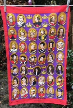 Monarchs of England: Acquired 2020, vintage. Not yet blogged about
