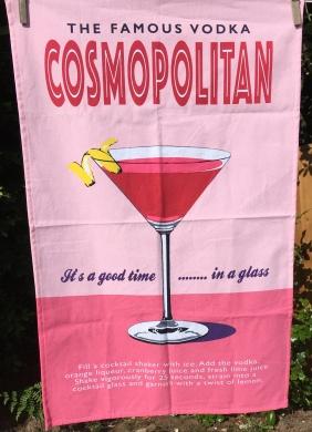 The Famous Vodka Cosmopolitan: 2019. To read the story www.myteatowels.wordpress.com/2019/06/30/fam
