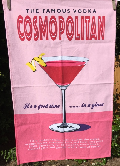 The Famous Vodka Cosmopolitan: 2019. To read the story www.myteatowels.wordpress.com/2019/06/30/fam