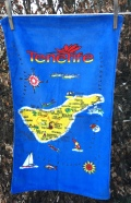 Tenerife: Acquired 2019 but much older. To read the story www.myteatowels.wordpress.com/2020/05/07/can