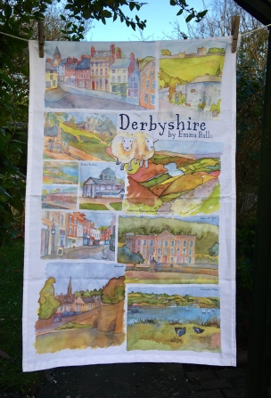 Derbyshire (or the Eigth Day of Christmas) 2017: To read the story www.myteatowels.wordpress.com/2018/01/01/der