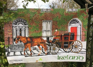 Greetings from Ireland: Acquired 2018, probably vintage. To read the story www.myteatowels.wordpress.com/2018/03/18/gre