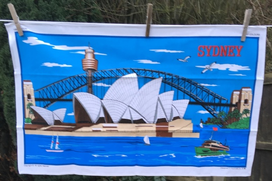 Sydney Opera House: 2019. To read the story www.myteatowels.wordpress.com/2019/02/06/syd