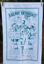 Railway Enthusiast: 2019. To read the story www.myteatowels.wordpress.com/2019/06/12/rai
