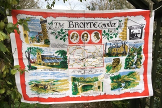 Bronte Country: Acquired 2018, probably vintage. To read the story www.myteatowels.wordpress.com/2019/03/09/bro