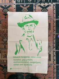 Edward Carpenter: On 'loan' from Stephen - see Guest Tea Towel 2018