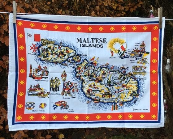 Maltese Islands: 2019. To read the story www.myteatowels.wordpress.com/2020/01/03/mal