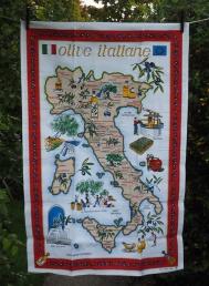 Olive Italiane: 2017. To read the story www.myteatowels.wordpress.com/2019/05/14/olive