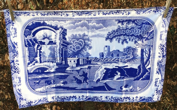 Blue Italian Spode: Acquired 2020. Not yet blogged about