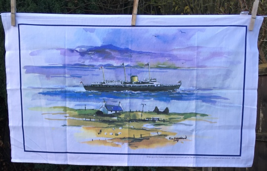 Britannia in the Western Isles: 2018. To read the story www.myteatowels.wordpress.com/2019/01/15/bri