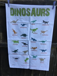 Dinosaurs: 2018. To read the story www.myteatowels.wordpress.com/2019/01/17/din