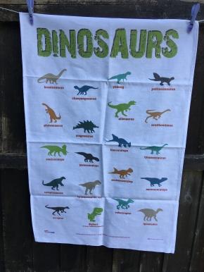 Dinosaurs: 2018. To read the story www.myteatowels.wordpress.com/2019/01/17/din