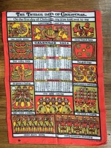 1974 Calendar Tea Towel. To read the story www.myteatowels.wordpress.com/2020/07/20/1974