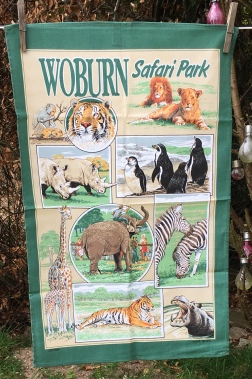 Woburn Safari Park: Acquired 2020. To read the story www.myteatowels.wordpress.com/2020/06//10/saf