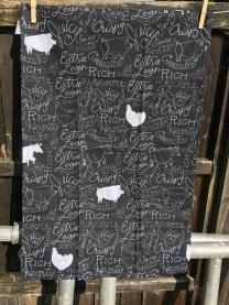 BBQ Chicken Tea Towel: 2018. To read the story www.myteatowels.wordpress.com/2018/07/03/bar