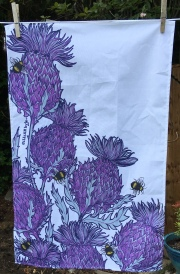The Thistle: 2019. To read the story www.myteatowels.wordpress.com/2019/07/02/thi