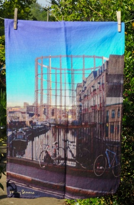 Gasometer: 2015. To read the story www.myteatowels.wordpress.com/2017/11/09/gas