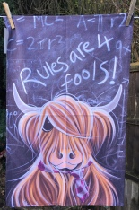 Rules are 4 Fools: 2018. To read the story www.myteatowels.wordpress.com/2019/07/15/rul