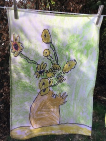 Sunflowers: 2020. To read the story www.myteatowels.wordpress.com/2020/10/28/sun