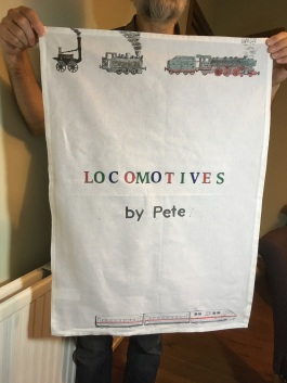 Locomotives by Pete. On 'loan' from Pete