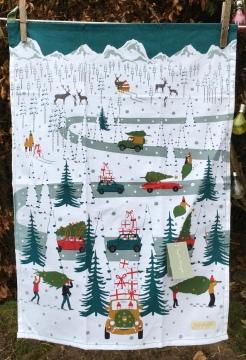 Christmas Car Scene: 2019. To read the story www.myteatowels.wordpress.com/2019/12/17/chr