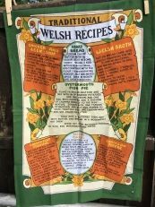 Welsh Recipes: 2018, possibly vintage. Not yet blogged about