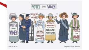 Votes for Women: On 'loan' from Alison Gardiner