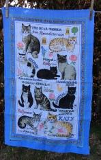 National Trust Cats: 2020. To read the story www.myteatowels.wordpress.com/2020/04/21/kin