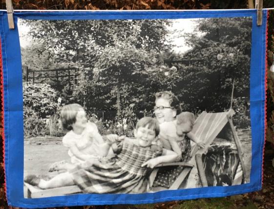 Julie, Amanda and Barbara: 2019. To read the story www.myteatowels.wordpress.com/2020/05/16/julie