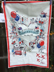 Harry and Meghan: 2018. To read the story www.myteatowels.wordpress.com/2018/05/01/har