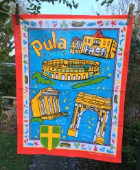 Pula, Croatia: 2017. To read the story www.myteatowels.wordpress.com/2018/05/31/pul