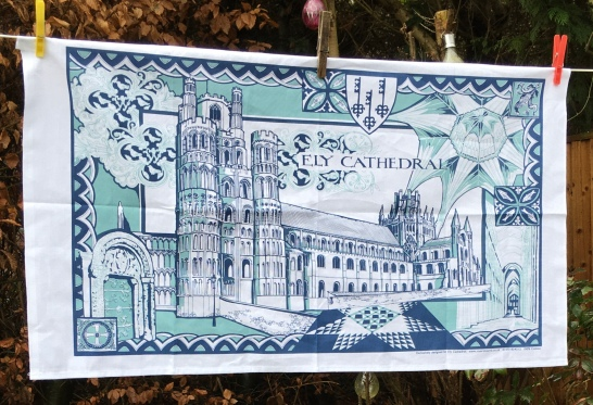 Ely Cathedral: 2019. To read the story www.myteatowels.wordpress.com/2020/01/02/ely
