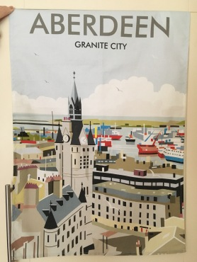 Aberdeen Granite City: 2018. To read the story www.myteatowels.wordpress.com/2018/06/10/abe