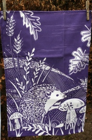 Hedgehog: 2019. To read the story www.myteatowels.wordpress.com/2020/02/12/hed