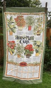1990 Calendar Tea Towel. To read the story www.myteatowels.wordpress.com/2020/07/27/1990