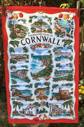Cornwall: Acquired 2020. To read the story www.myteatowels.wordpress.com/2020/06/28/cor