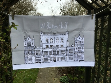 Wollaton Hall: 2018. To read the story www.myteatowels.wordpress.com/2018/10/04/wol
