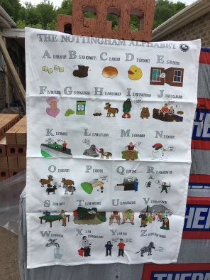 Nottingham Alphabet: To read the story www.myteatowels.wordpress.com/2018/05/11/not