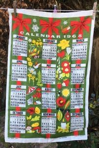 1968 Calendar Tea Towel: Acquired 2020. To read the story www.myteatowels.wordpress.com/2020/07/15/1968