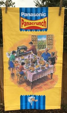 Panasonic Panacrunch: Vintage. To read the story www.myteatowels.wordpress.com/2021/02/21/pana