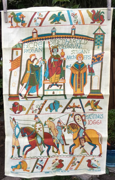 1066; To read the story www.myteatowels.wordpress.com/2020/11/30/1066