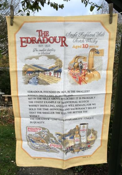 Edradour Distillery: 2018, probably vintage. To read the story www.myteatowels.wordpress.com/2019/01/29/era