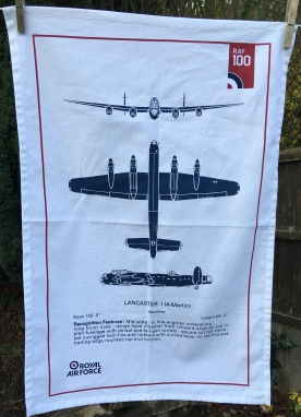 Lancaster Bomber: 2018. To read the story www.myteatowels.wordpress.com/2018/11/18/lan