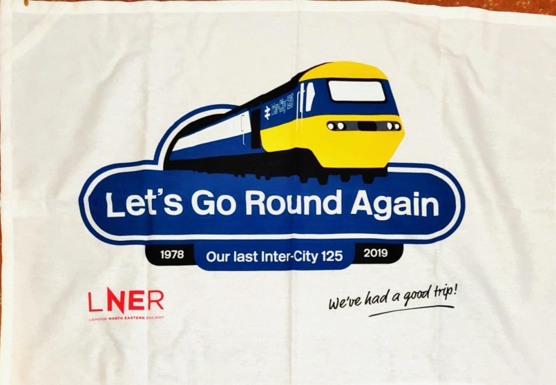 Let's Go Round Again: Acquired 2020. To read the story www.myteatowels.wordpress.com/2020/08/15/lets